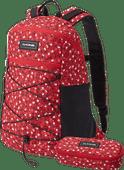 Dakine WNDR Pack 18L Crimson Rose + School Case