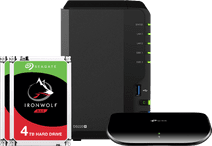 Synology DS220+ + 8TB & Ethernet Switch