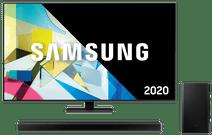 Samsung QLED 65Q80T + Surround set