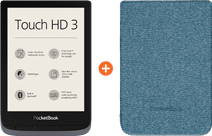 Pocketbook Touch HD 3 Gris + Pocketbook Shell Touch HD 3 Bleu