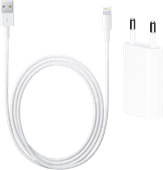 Apple Usb A Oplader 5W + Apple Lightning naar Usb A Kabel 2 Meter