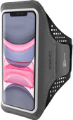 Mobiparts Comfort Fit Sportarmband Apple iPhone 11 Zwart
