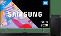 Samsung QLED 43Q64T + Barre de son