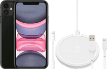 Apple iPhone 11 64 GB Zwart + Accessoirepakket Uitgebreid