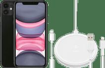 Apple iPhone 11 128 GB Zwart + Accessoirepakket Uitgebreid
