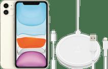 Apple iPhone 11 64 Go Blanc + Pack d'Accessoires Étendu