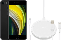 Apple iPhone SE 128 GB Zwart + Accessoirepakket Uitgebreid