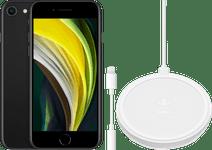 Apple iPhone SE 64 GB Zwart + Accessoirepakket Basis