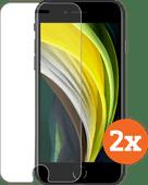 Azuri Rinox Case Friendly Apple iPhone SE 2/8/7/6/6s Screen Protector Glass Duo Pack