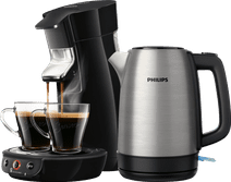 Philips Senseo Viva Café HD6563/60 Zwart + waterkoker