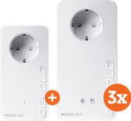 Devolo Magic 2 WiFi next Multiroom Kit + Uitbreiding (BE)