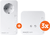 Devolo Magic 1 WiFi mini Multiroom Kit + Uitbreiding (BE)