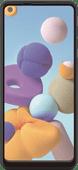 Azuri Curved Case Friendly Samsung Galaxy A21s Screenprotector