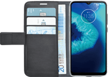 Azuri Wallet Motorola Moto G8 Power Lite Book Case Noir