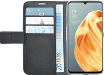 Azuri Wallet OPPO A91 Book Case Zwart