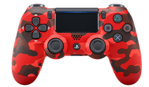 Sony DualShock 4 Controller PS4 V2 Red Camo