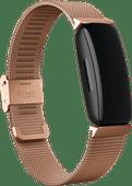 Fitbit Inspire/Inspire 2 Milanees Bandje Roségoud