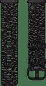 Fitbit Versa 3/Sense Nylon Bandje Antraciet L