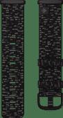 Fitbit Versa 3/Sense Nylon Bandje Antraciet S