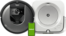 iRobot Roomba i7 Aspirateur-robot + iRobot Braava M6138 Loque