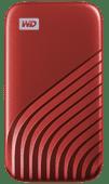 WD My Passport 500 Go SSD Rouge