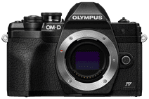 Olympus OM-D E-M10 Mark IV Body Zwart