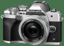Olympus OM-D E-M10 Mark IV Zilver + EZ 14-42mm f/3.5-5.6 Zilver
