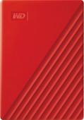WD My Passport 4TB Red