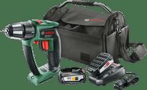 Bosch PSR 18 LI-2 Ergonomic + 18V 2.5Ah Starter Set + Tool Bag