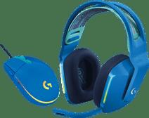 Logitech G733 LIGHTSPEED Wireless Gaming Headset Blauw + Logitech G203 Gaming Mouse