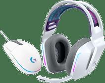 Logitech G733 LIGHTSPEED Wireless Gaming Headset Wit + Logitech G203 Gaming Mouse