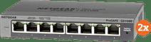 Netgear GS108E Duo Pack