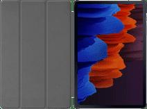 Just in Case Tri-Fold Samsung Galaxy Tab S7 Plus Book Case Grijs