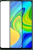 Azuri Rinox Armor Xiaomi Redmi Note 9 Screenprotector Glas Zwart