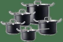 BK-Q-Linair Master Glass Black 5-delige set