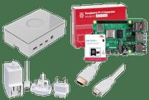 Raspberry Pi 4 Model B 4GB Starter Kit WHITE