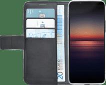 Azuri Wallet Magneet Sony Xperia 1 II Book Case Zwart