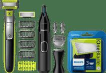 Philips Oneblade QP2630/30 + 3 OneBlade mesjes  + Neustrimmer