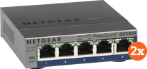 Netgear GS105E ProSafe Plus Duo Pack