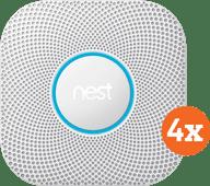 Google Nest Protect V2 Netstroom 4-Pack