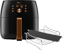 Philips Airfryer XXL Premium HD9867/90 + Kookrek + Panverdeler