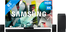 Samsung QLED 8K 85Q950TS + soundbar