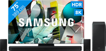 Samsung QLED 8K 75Q950TS + soundbar