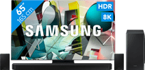 Samsung QLED 8K 65Q950TS + soundbar
