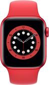 Apple Watch Series 6 40 mm Aluminium RED Bracelet Sport RED