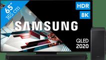 Samsung QLED 8K 65Q800T + soundbar