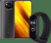 Xiaomi Poco X3 64GB Zwart + Xiaomi Mi Smart Band 4 Zwart