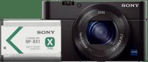 Sony CyberShot DSC-RX100III + NP-BX1 Battery