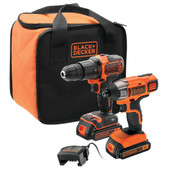 BLACK+DECKER BCK21S2S-QW Set combiné