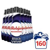 Robijn Klein & Krachtig Black Velvet Vloeibaar Wasmiddel 8 x 20 wasbeurten